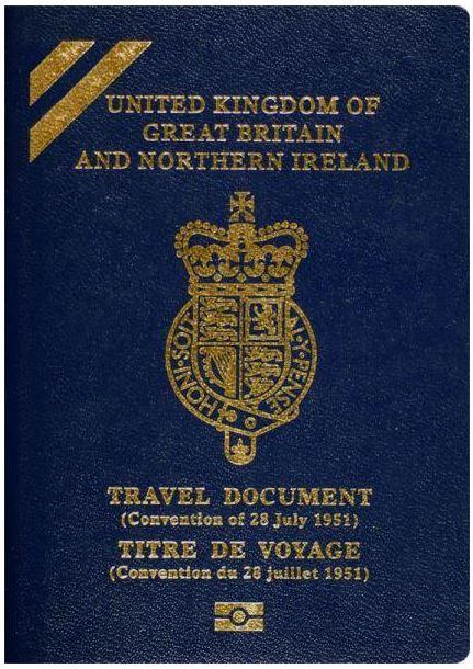 Convention Travel Document Blue Stride Partnership