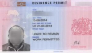 brp card for refugees